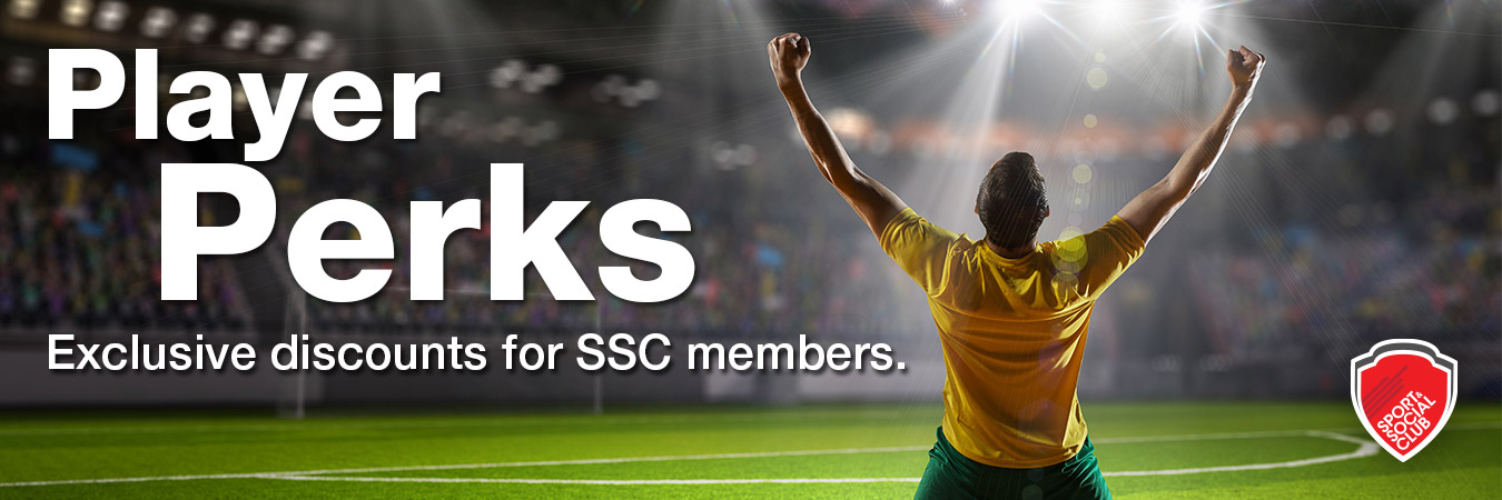 Sport and Social Club Player Perks Member Discounts